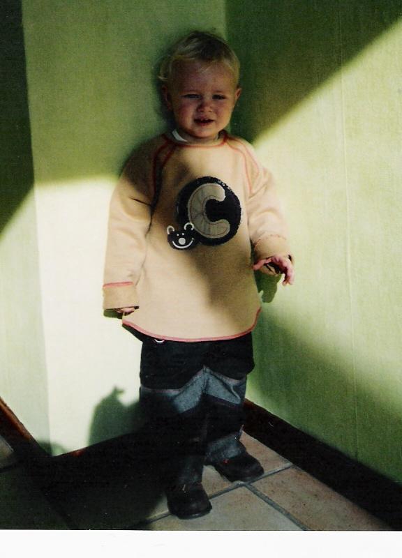 Lucas trois semaines avant sa première crise d épilepsie